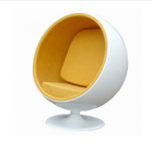 popular living room furniture fabric Fiberglass ball chair for sale