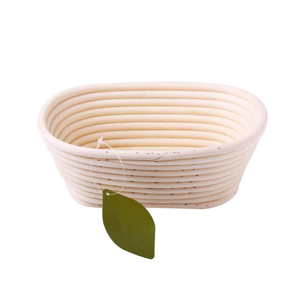 116cm For Professional /& Home Bakers Banneton Bread Proofing Basket,Natural Rattan European Style Artisan Sourdough Bread Bakery Basket