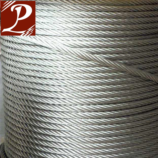 Gold supplier China capacity of steel wire rope