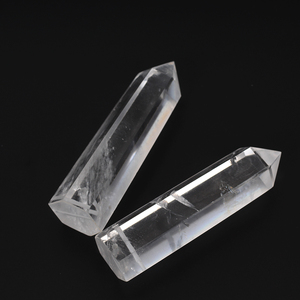 Wholesale Natural Clear Quartz Rock Crystal Wands And Points For Decoration