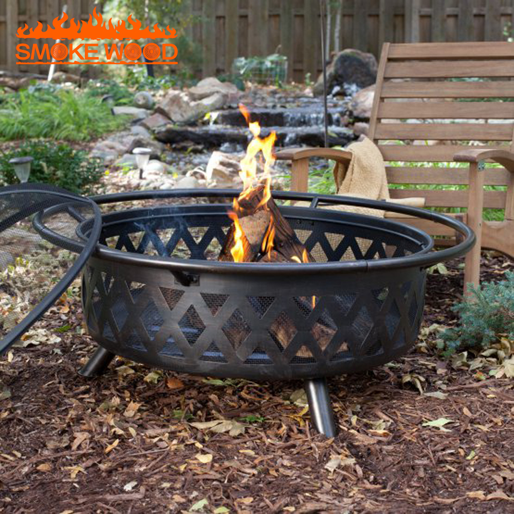 High Quality Outdoor Charcoal Brazier Grill Metal Fire Pit ...