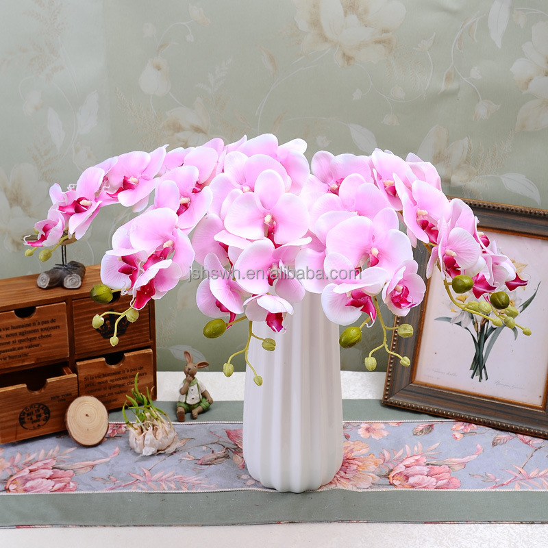 High quality Real touch decorative Artificial flower Butterfly orchid