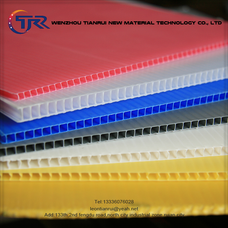Excellent Strength New Material Corrugated Pet Plastic Sheet