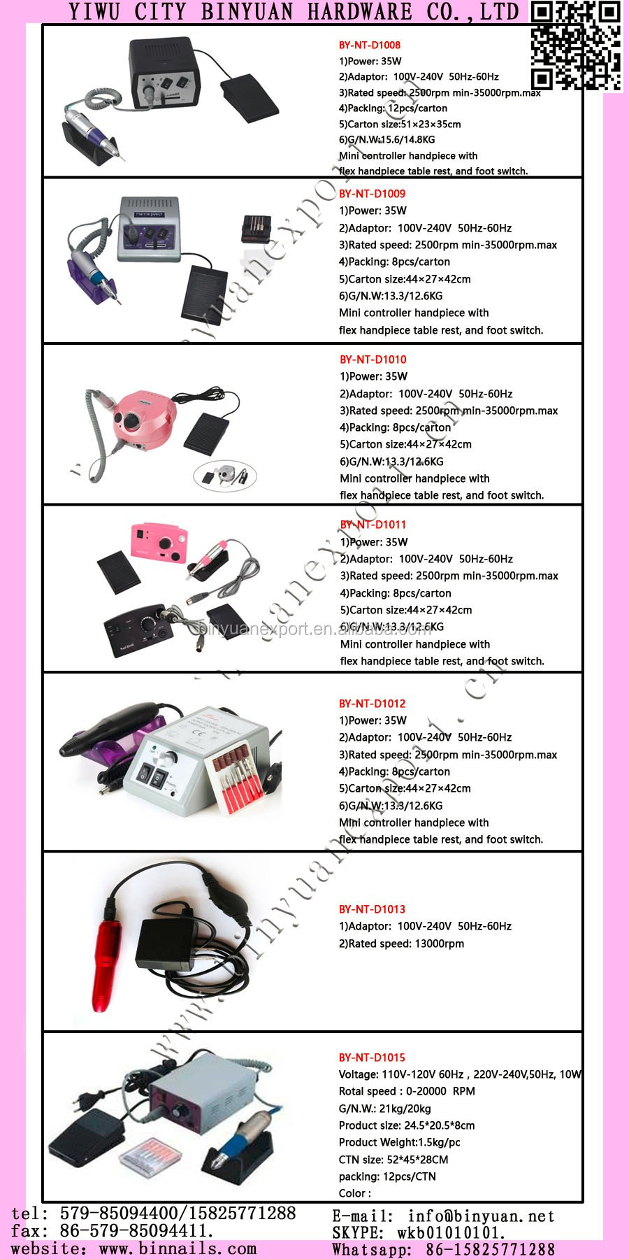 Bin Nail Care Tools And Equipment Electric File Glazing Machine