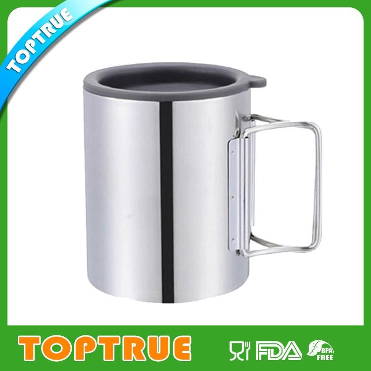 450ml Double Wall Travel Mug Inner Stainless Steel Outer