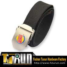 Good quality Cotton Canvas Belt With Alloy automatic buckle