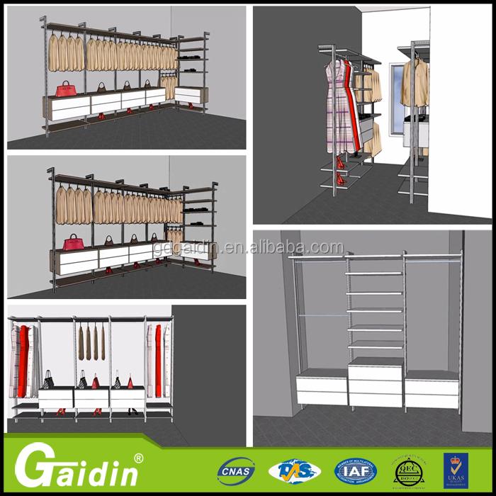 Dormitorio Montado En La Pared Diseños De Vestuario Accesorios ...