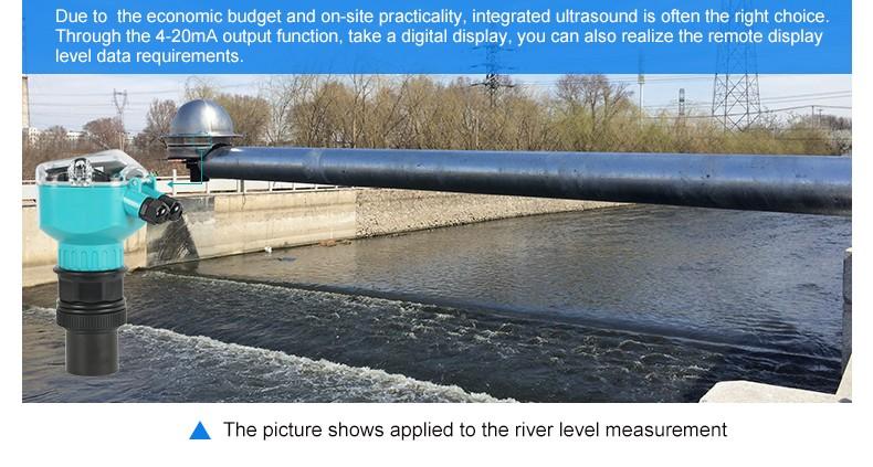 good quality water level monitoring Ultrasonic level sensor