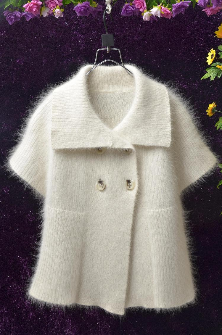 Many soft and fuzzy angora and mohair men's and women's sweaters including vintage and retro.