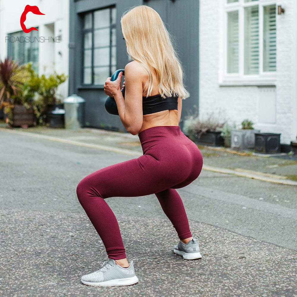 Fabrikant Naadloze Yoga Broek Hoge Waisted Leggings Womens Naadloze Gym Workout Leggings