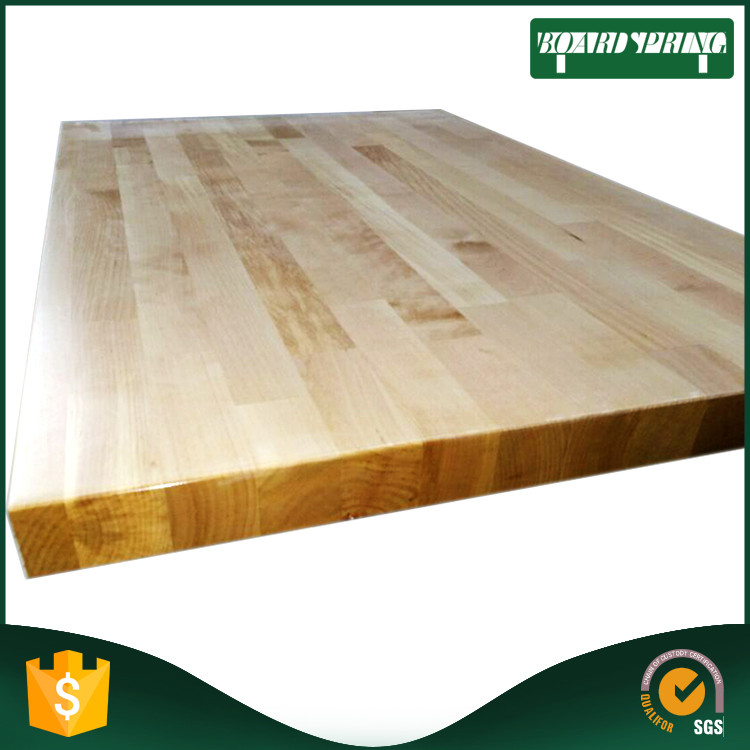 Solid Teak Wood Finger Joint Board , Bamboo Finger Joint Wood Table Top
