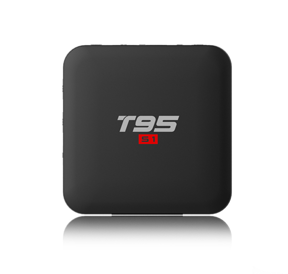 Android TV Box di Controllo Vocale Remoto T95 S1 Con Manuale Utente