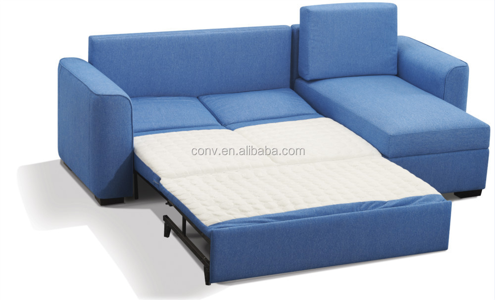 Section Sleeper Storage Sofa Bed Design