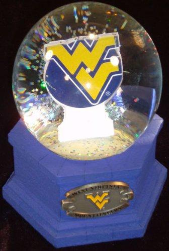 NCAA West Virginia Mountaineers Snow Globe with Logo Image