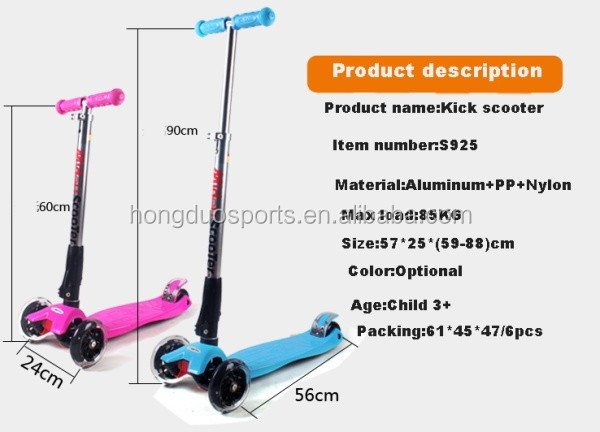 New Electric Kick Scooter With Quick Folding System