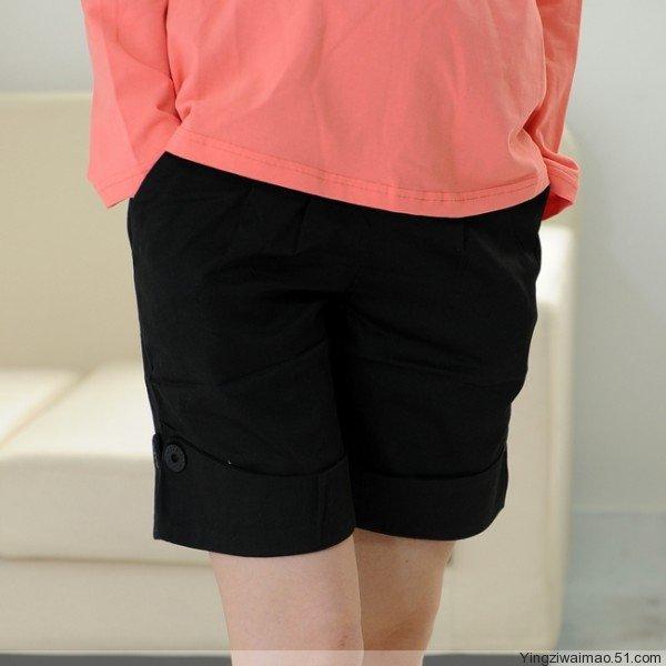 Свободного покроя для беременных шорты с вкладыш pregant женщина 5 точка шорты удобные шорты пресс брюки