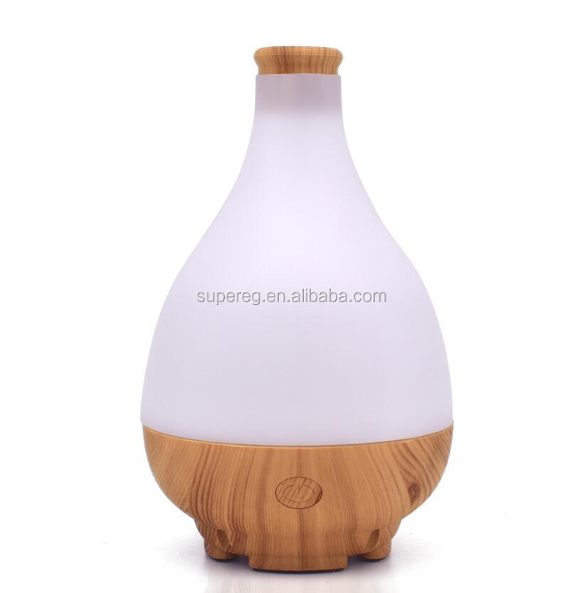 Jade net bottle Shape Aroma Humidifier USB Jade pure Air Diffuser Purifier Mist Maker with LED light