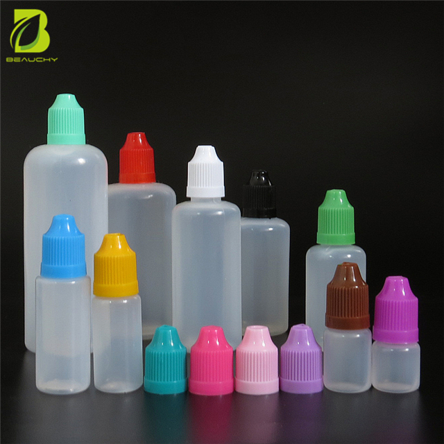 2018 NEW PRODUCT 10ml plastic dropper bottles e liquid bottle PE BOTTLE