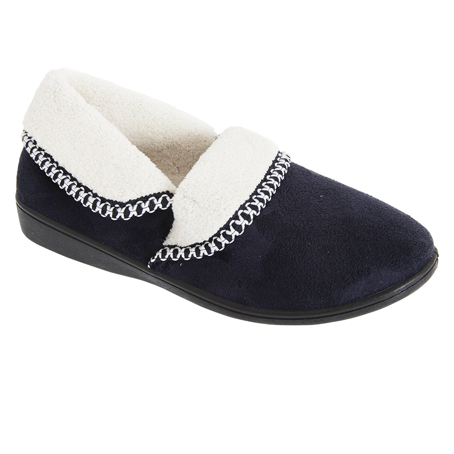 e854060847b Get Quotations · Slumberzzz Womens Ladies Soft Thermal Slippers