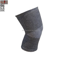 Wholesale Breathable Elastic Bamboo Charcoal Cotton Kneepad Knee Sleeve Support for Sports Safety