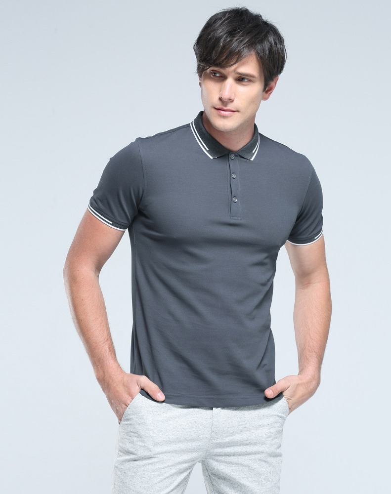 Best Quality Plain Slim Fit Tight Sports Men's Short Sleeve Men's Polo t shirts