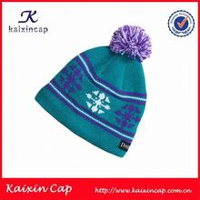 New trend Stylish custom cool winter hats for kids