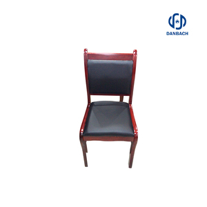 Wholesale Modern high And PU leather executive conference room visiAntique Meeting Room Solid Wood Four Legs Office Chairs