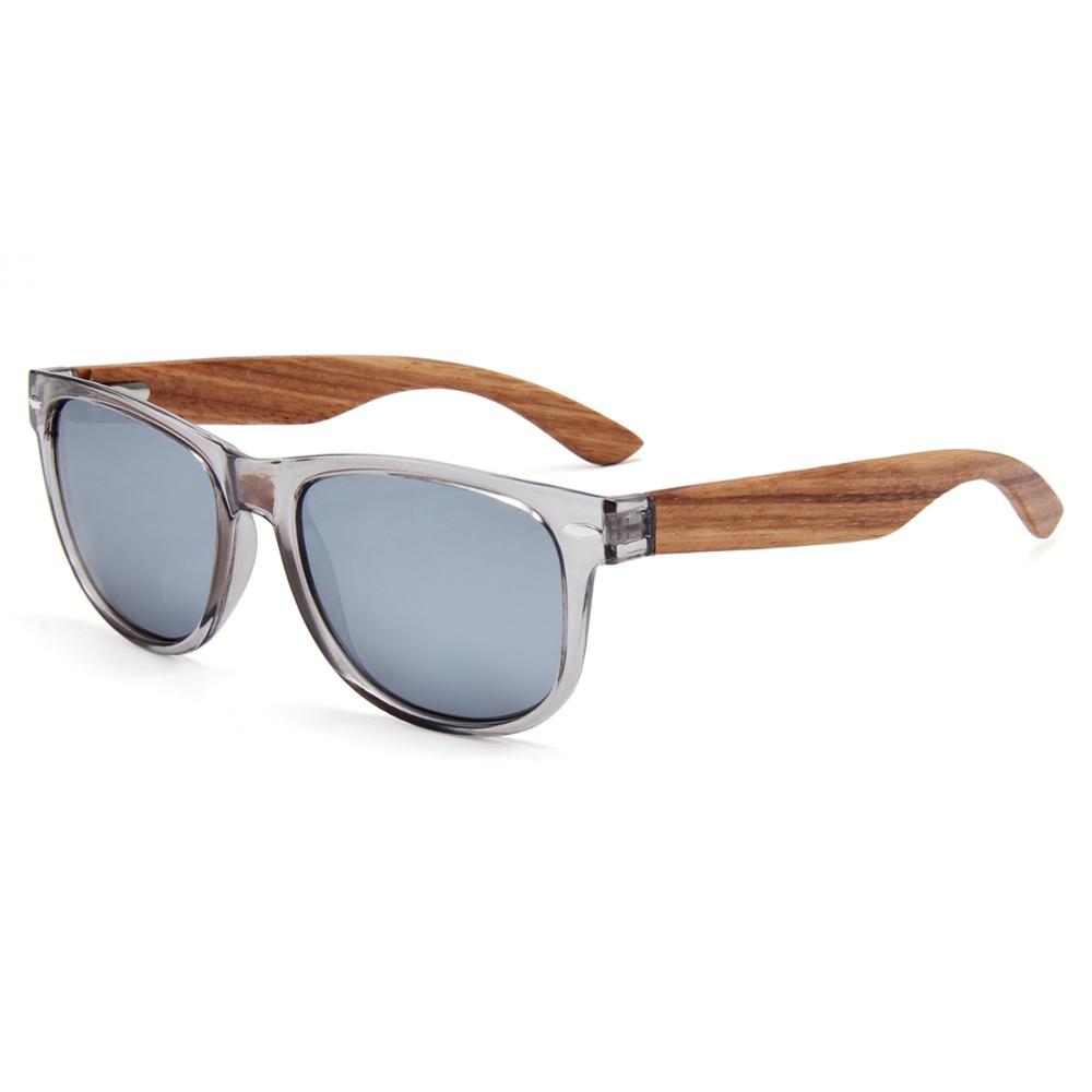 cb24632970fe italy design cat.3 uv400 sunglasses 2018 wood legs plastic clear frame  sunglasses