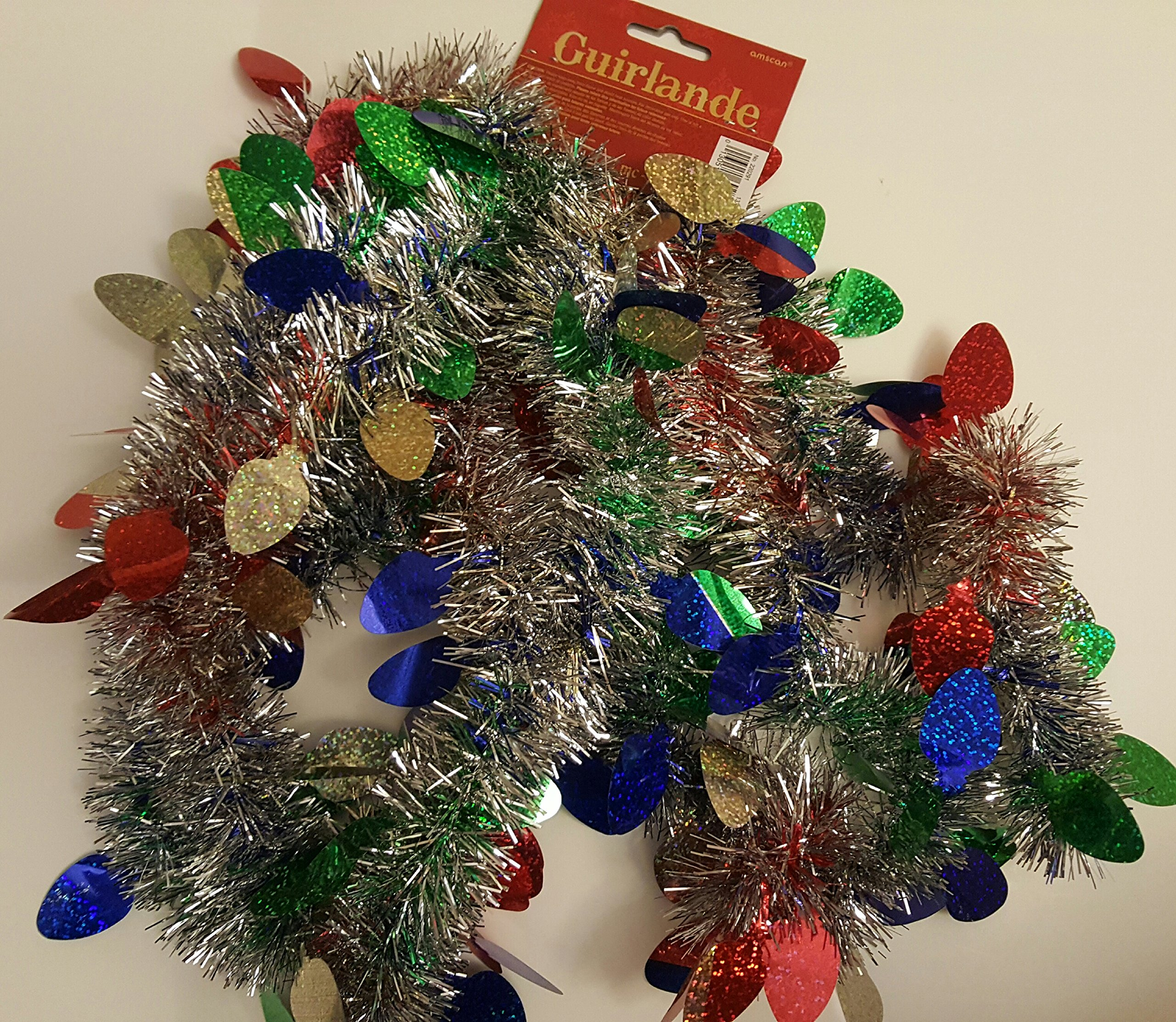 get quotations 9 christmas garland prismatic lights value garland decorations 9ft 274 m artificial - Christmas Garland Wholesale
