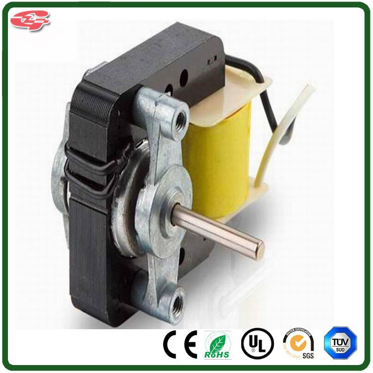 china manufacture prices YJ48 series good starting electric shaded pole motor, refrigerator motor