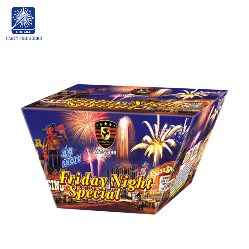 Liuyang factory supply multi shot fireworks