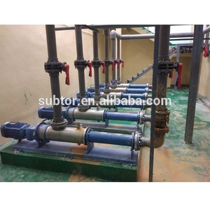 Municipal Waste Water Pump Customized Capacity/Pressure Direct-Coupled Single Screw Pump