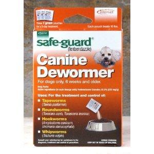 Safe-Guard Canine Dewormer 3 Dose x 1 gram