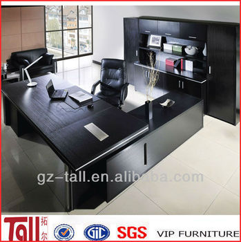 High Quality Luxury Modern Executive Leather Top Office Desk