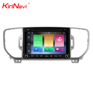 KiriNavi WC-KS8033 8 core android 6.0 stereo for kia sportage car multimedia player 2016 2017 gps BT 3g TV