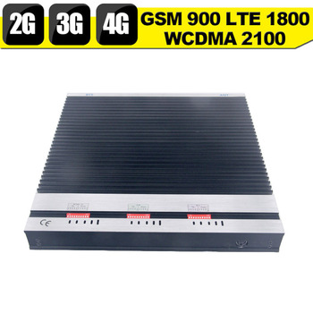 889e10875e5269 KT-GDL 27dBm 2G 3G 4G Mobile Network Signal Booster Tri band 900 1800  2600MHz