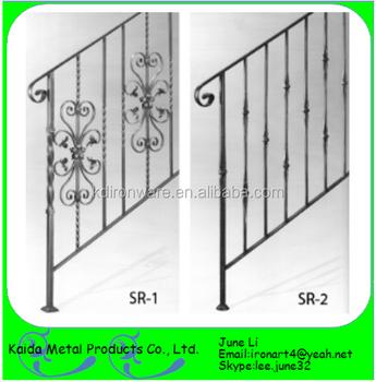 Decoraci n de metal de hierro forjado barandas para for Escaleras sodimac