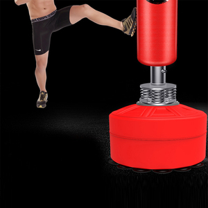 5.5ft Boxing Stand Martial Arts Fitness Kick Punching Training Dummy