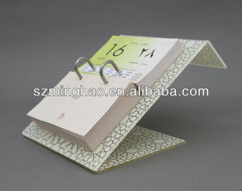 free standing high quality acrylic desk calendar stand buy acrylic