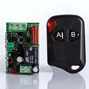2-key RF wireless transmitter and receiver kit