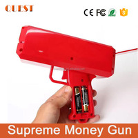 Supreme Paper Money Spray Gun Cash Cannon Money Gun with 50pcs US Dollars