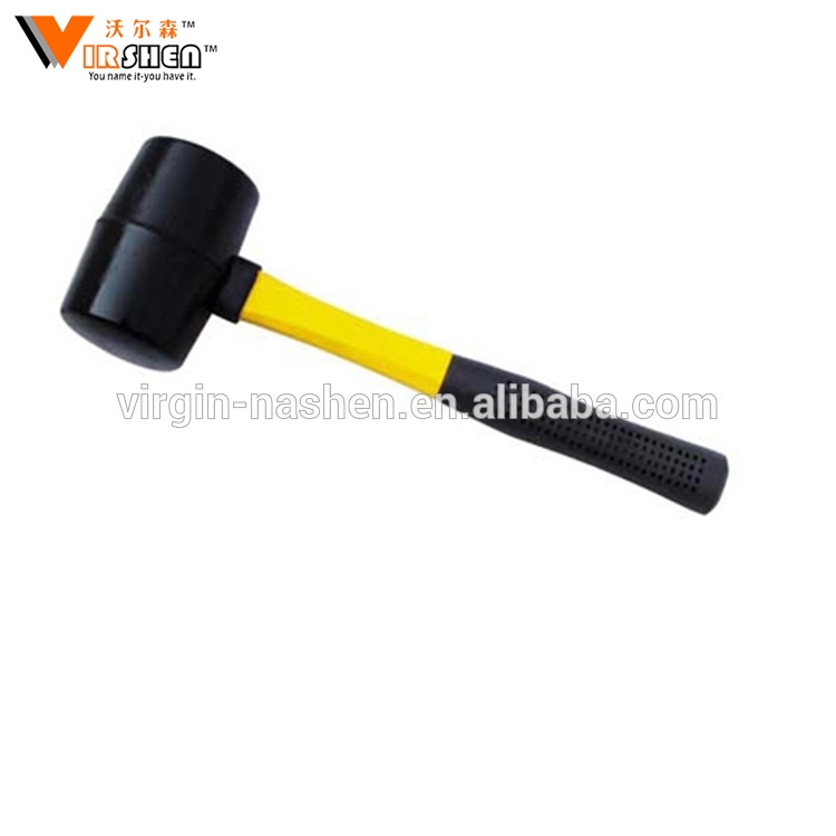 Hholesale garden patio chisel mallet rubber hammer for building tool