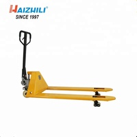 Hot selling hand forklifts 360 degree rotating handle hydraulic floor jack trolley 2 ton