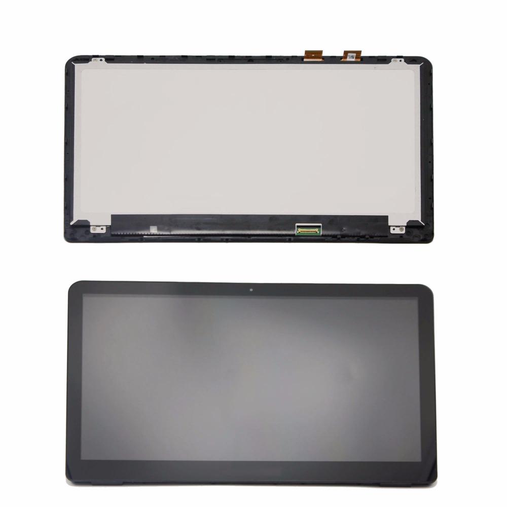 Touch Screen Digitizer Panel Bezel For HP Pavilion x360 15-BK021NR 15-BK163DX