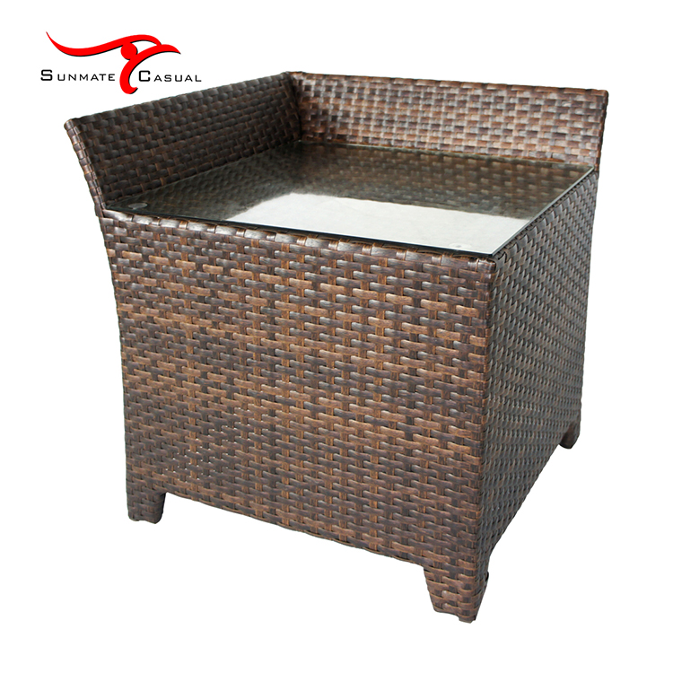 Patio Outdoor Seating Set Leisure Rattan Couch Garden Sofa Corner Design