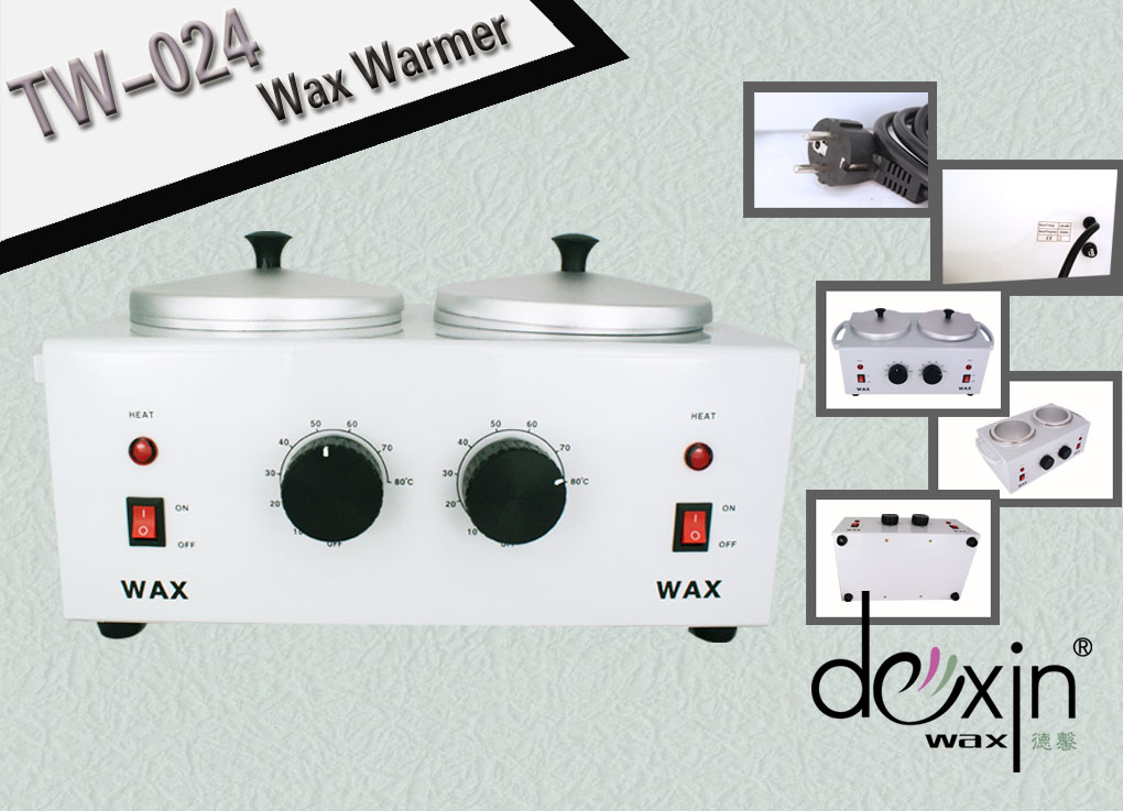 Double Head Wax Heater with CE approval