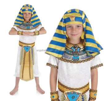 Kid pefomance wear childrenu0027s egyptian pharaoh fancy dress costumes FC2321  sc 1 st  Alibaba & Kid Pefomance Wear Childrenu0027s Egyptian Pharaoh Fancy Dress Costumes ...