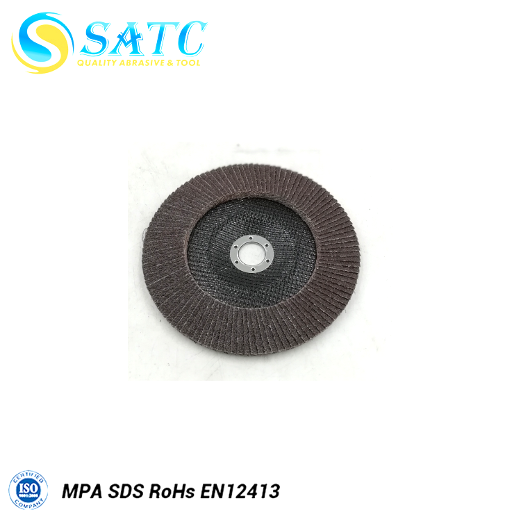 semi automatic flap disc making machine with high quality