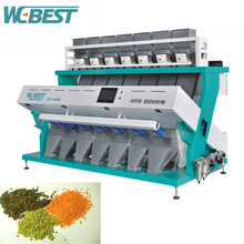 Lentil CCD color sorting machine/lentils beans color sorter from China