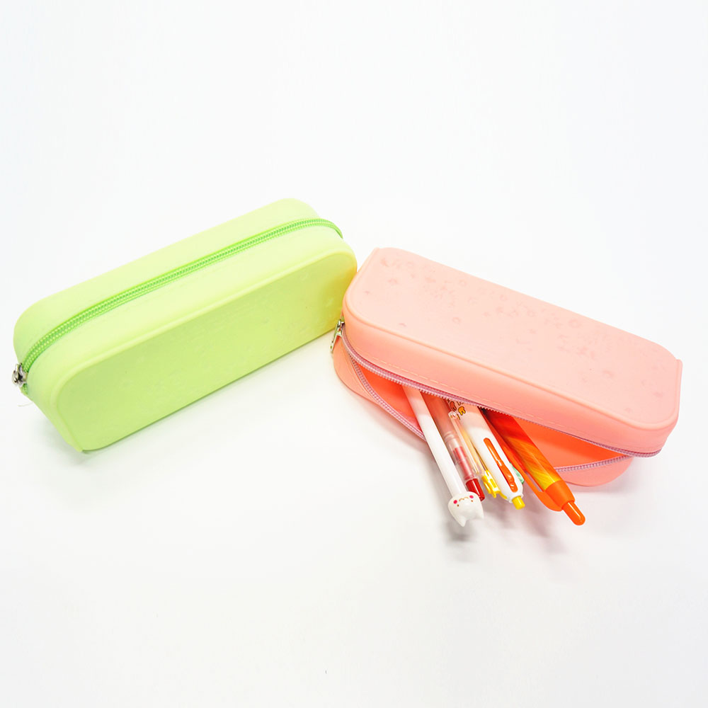 Fashion and Multi Purpose Silicone Student Silicone Rubber Pencil Bag/Pen Case